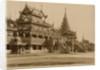 The Hman Kyaung or the glass monastery, Burma by Felice Beato