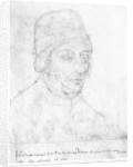John of Burgundy, bishop of Cambrai by Flemish School