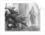 The last cabinet meeting of the ex-ministers by Honore Daumier
