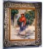 Gabrielle in the garden by Pierre Auguste Renoir