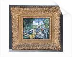Dejeuner sur l'herbe by Paul Cezanne