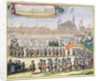 Commemoration of the Peace of Rijswijk by Lorenz Scherm