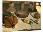 The Meal (The Bananas) by Paul Gauguin
