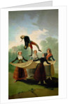 El Pelele by Francisco Jose de Goya y Lucientes