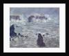 Storm, off the Coast of Belle-Ile by Claude Monet