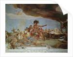 America by Giovanni Battista Tiepolo