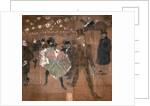 Dancing at the Moulin Rouge: La Goulue and Valentin le Desosse by Henri de Toulouse-Lautrec