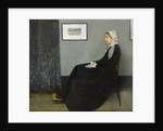 Arrangement in Grey and Black No.1, Portrait of the Artist's Mother by James Abbott McNeill Whistler