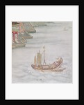 Chinese Boat by Japanese School