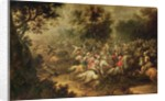 Battle of the cavalrymen by Jacques Courtois