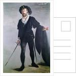 Jean Baptiste Faure as Hamlet by Edouard Manet