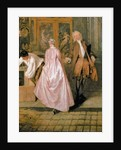 The Gersaint Shop Sign by Jean Antoine Watteau