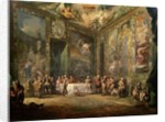 Charles III de Borbon, lunching Before his Court by Luis Paret y Alcazar