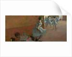 Dancers Ascending a Staircase by Edgar Degas