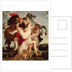 Rape of the Daughters of Leucippus by Peter Paul Rubens