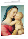 Detail of the 'Tempi' Madonna by Raphael