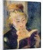 Girl Reading by Pierre Auguste Renoir