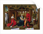 Adoration of the Magi, central panel of the Triptych of the Adoration of the Magi by Hans Memling