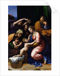 Holy Family (known as the Grande Famille of Francois I) by Raphael