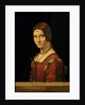 Portrait of a Lady from the Court of Milan by Leonardo da Vinci
