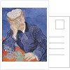 Dr. Paul Gachet by Vincent van Gogh