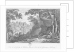 View of Heloise grotto in the park of La Garenne at Clisson by Claude Thienon