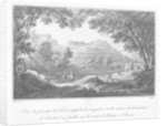 View of the torrent known as La Sanguese and the ruins of the house of Abelard at the Pallet, on the road from Clisson to Nantes by Claude Thienon