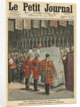 Funeral of King Edward VII in St. George's chapel at Windsor by French School