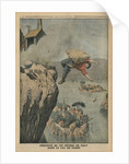 Falling in Lake Garda by French School