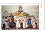 The Feast of Agriculture in 1796 at Paris by P. A. & Lesueur
