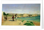 Antibes, the Horse Ride by Jean-Louis Ernest Meissonier