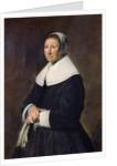 Portrait of a Woman by Frans Hals