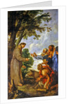 The Legend of the Mule and Saint Anthony of Padua by Sir Anthony van Dyck