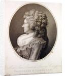 Marie Therese Louise de Savoie-Carignan Princess of Lamballe by Henri-Pierre Danloux