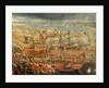 The Triumphant return of Doge Francesco Morosini to Venice by Italian School