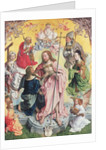 Central panel from the St. Thomas Altarpiece by Master of St. Bartholemew