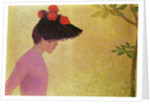 Profile of a Young Woman, c.1890 by Aristide Maillol
