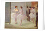 Dancers in the Wings at the Opera by Jean Louis Forain