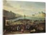 The Pont Neuf, Paris by Flemish School