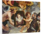The Medici Cycle: Henri IV Receiving the Portrait of Marie de Medici by Peter Paul Rubens
