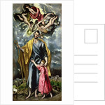 St. Joseph and the Christ Child by El Greco