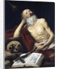 St. Jerome by Antonio Pereda y Salgado
