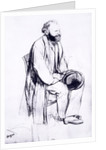 Study for a portrait of Manet by Edgar Degas