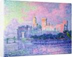 The Chateau des Papes, Avignon by Paul Signac
