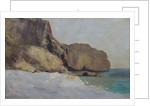 The Rocks at Vallieres, near Royan by Odilon Redon