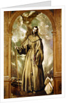 Saint Bernard of Clairvaux by El Greco