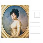 Princess Aniela Angelique Czartoryska nee Radziwill by Elisabeth Louise Vigee-Lebrun