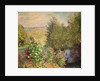 A Corner of the Garden at Montgeron by Claude Monet
