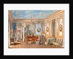 The Study of the Empress Eugenie at Saint-Cloud by Fortune de Fournier