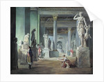 The Salle des Saisons at the Louvre by Hubert Robert